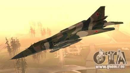 Mikojan-Gurewitsch Mig-23 für GTA San Andreas