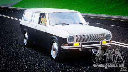 GAZ 24-12 1986-1994 Stock Edition v2. 2 für GTA 4