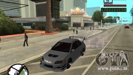 Mitsubishi Lancer Evo 9 für GTA San Andreas