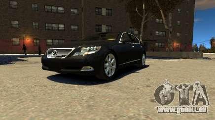 Lexus LS600 V2.0 pour GTA 4
