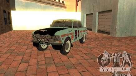 Moskvich 412-Rallye-Version für GTA San Andreas