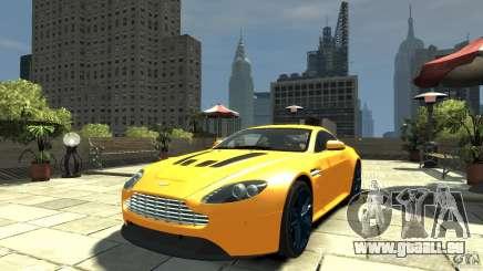 Aston Martin V12 Vantage 2010 für GTA 4