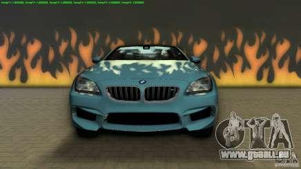 BMW M6 2013 pour GTA Vice City