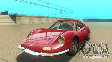 Ferrari Dino 246 GT für GTA San Andreas