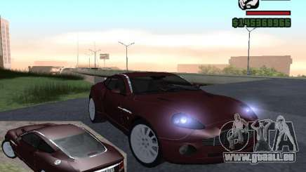 Aston Martin Vanquish für GTA San Andreas