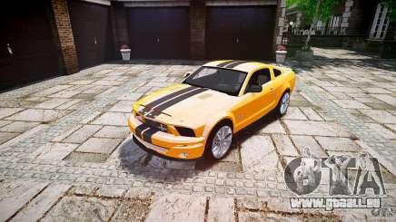 Shelby GT 500 KR 2008 K.I.T.T. pour GTA 4