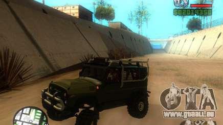 UAZ Hunter für GTA San Andreas