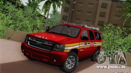 Chevrolet Suburban EMS Supervisor 862 pour GTA San Andreas
