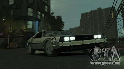 DeLorean BTTF 2 pour GTA 4
