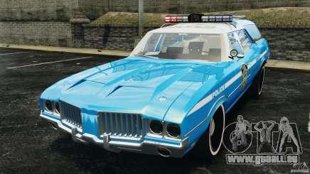 Oldsmobile Vista Cruiser 1972 Police v1.0 [ELS] für GTA 4