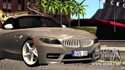 BMW Z4 Stock 2010 pour GTA San Andreas