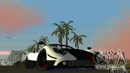 Pagani Zonda Cinque Roadster 2010 pour GTA Vice City