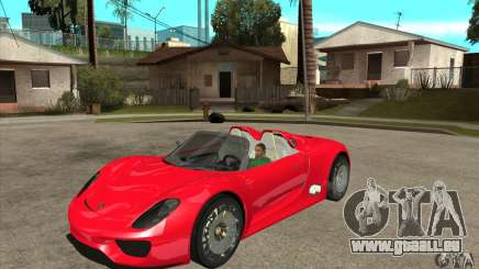 Porsche 918 Spyder pour GTA San Andreas