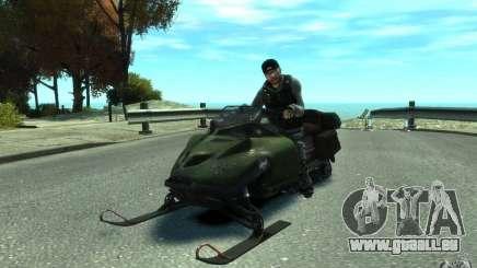 Motoneige pour GTA 4