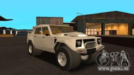 Lamborghini LM-002 für GTA San Andreas