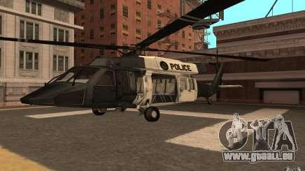 Black Hawk from BO2 für GTA San Andreas