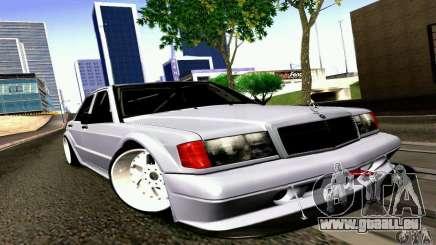 Mercedes-Benz 190E Drift pour GTA San Andreas