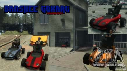 Banshee Go Kart pour GTA 4