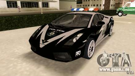 Lamborghini Gallardo Police für GTA Vice City