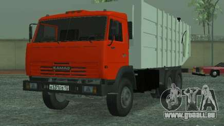 KAMAZ 53215 Müllwagen für GTA San Andreas