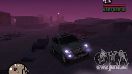 Mercedes-Benz ML 500 pour GTA San Andreas