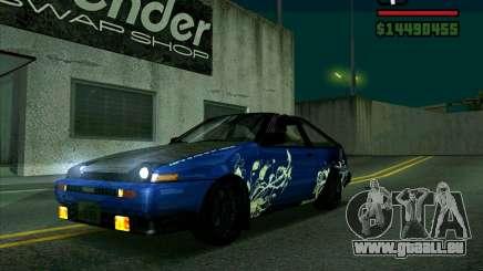 Toyota Trueno AE86 V3.0 für GTA San Andreas