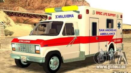 Ford Econoline Ambulance pour GTA San Andreas