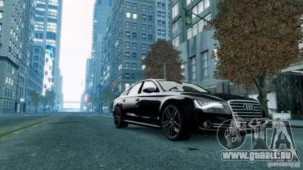 Audi A8 LED 2012 pour GTA 4