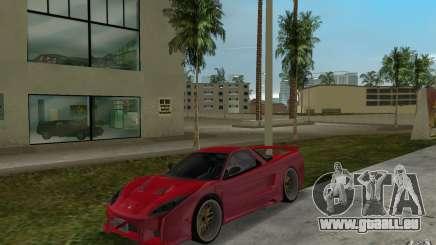 Acura NSX 2004 Veilside pour GTA Vice City