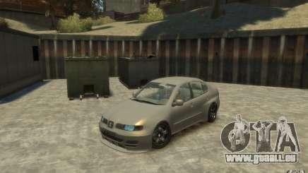 Seat Toledo 1.9TDi Sedan pour GTA 4
