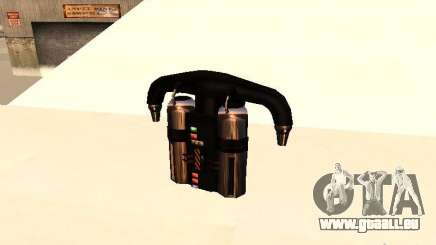 Eine neue Jetpack für GTA San Andreas