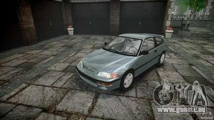 Honda CRX 1991 pour GTA 4
