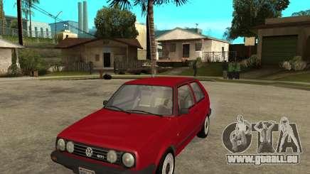 Volkswagen Golf Mk.II pour GTA San Andreas