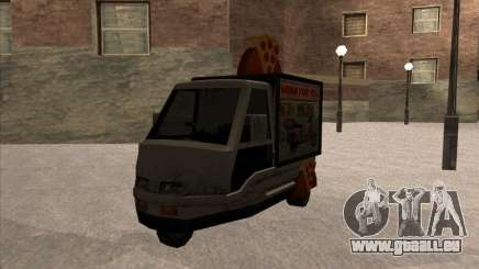 Sweeper Pizza Boy für GTA San Andreas