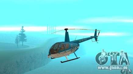 Robinson R44 Raven II NC 1.0 TV pour GTA San Andreas