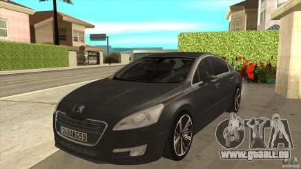 Peugeot 508 2011 EU plates für GTA San Andreas
