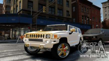 Hummer H3 2005 Gold Final pour GTA 4