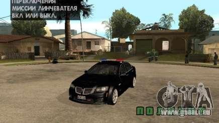 Pontiac G8 GXP Police v2 pour GTA San Andreas