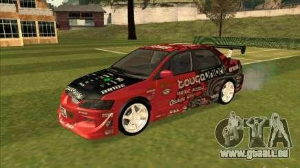 Mitsubishi Evo 9 Touge Union für GTA San Andreas