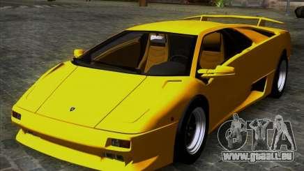 Lamborghini Diablo VTTT Black Revel pour GTA San Andreas