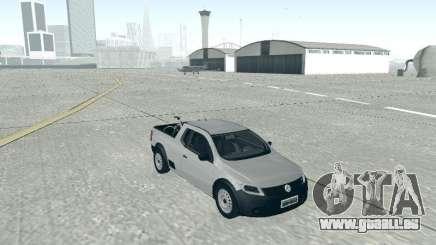Volkswagen Saveiro 1.6 2009 pour GTA San Andreas