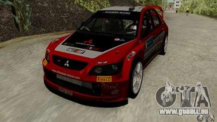 Mitsubishi Lancer Evolution VIII WRC für GTA San Andreas