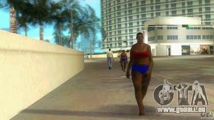 Big Lady Cop Mod 2 pour GTA Vice City