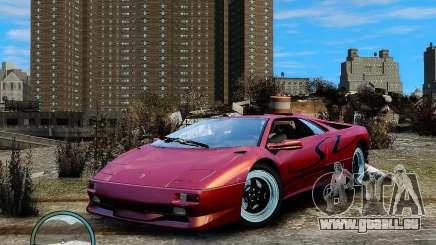 Lamborghini Diablo SV 1997 EPM v.2.3 pour GTA 4