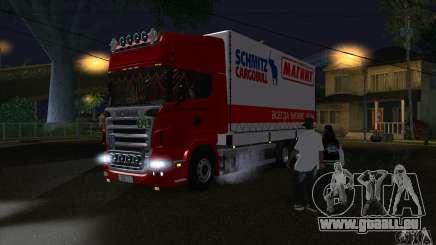 Scania R620-MAGNET für GTA San Andreas