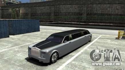Rolls-Royce Phantom Sapphire Limousine v.1.2 für GTA 4