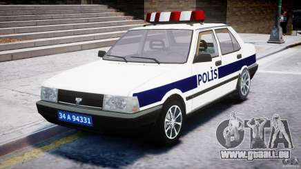 Tofas Sahin Turkish Police v1.0 pour GTA 4