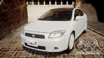 Toyota Scion tC 2.4 Stock für GTA 4