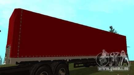 Nefaz 93344 rouge pour GTA San Andreas