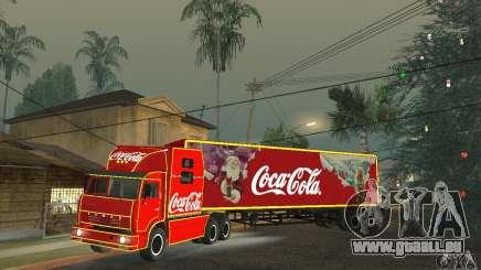 KAMAZ 54112 Weihnachten für GTA San Andreas